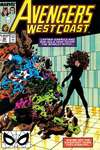 Avengers West Coast #48 comic books - cover scans photos Avengers West Coast #48 comic books - covers, picture gallery