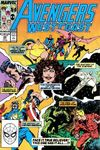 Avengers West Coast #49 comic books - cover scans photos Avengers West Coast #49 comic books - covers, picture gallery