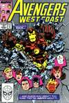 Avengers West Coast #51 comic books - cover scans photos Avengers West Coast #51 comic books - covers, picture gallery