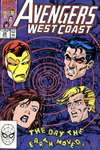 Avengers West Coast #58 comic books - cover scans photos Avengers West Coast #58 comic books - covers, picture gallery
