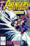 Avengers West Coast #59 comic books - cover scans photos Avengers West Coast #59 comic books - covers, picture gallery