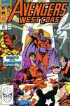 Avengers West Coast #60 comic books - cover scans photos Avengers West Coast #60 comic books - covers, picture gallery