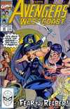 Avengers West Coast #65 Comic Books - Covers, Scans, Photos  in Avengers West Coast Comic Books - Covers, Scans, Gallery