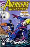 Avengers West Coast #69 Comic Books - Covers, Scans, Photos  in Avengers West Coast Comic Books - Covers, Scans, Gallery