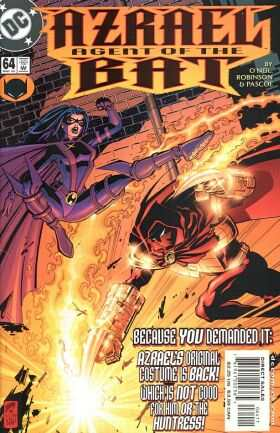 Azrael #64 comic books - cover scans photos Azrael #64 comic books - covers, picture gallery
