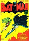 Batman #1 Comic Books - Covers, Scans, Photos  in Batman Comic Books - Covers, Scans, Gallery