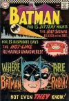 Batman #184 comic books - cover scans photos Batman #184 comic books - covers, picture gallery
