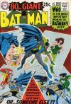 Batman #208 comic books - cover scans photos Batman #208 comic books - covers, picture gallery