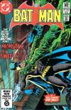 Batman #344 comic books for sale