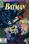 Batman #496 comic books - cover scans photos Batman #496 comic books - covers, picture gallery