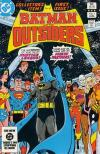 Batman and the Outsiders comic books
