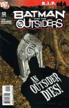 Batman and the Outsiders #12 comic books - cover scans photos Batman and the Outsiders #12 comic books - covers, picture gallery