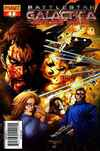 Battlestar Galactica: Cylon War comic books