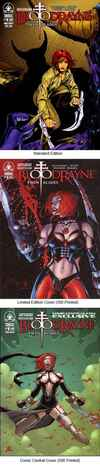 Bloodrayne: Twin Blades comic books