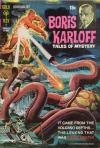 Boris Karloff Tales of Mystery #37 comic books - cover scans photos Boris Karloff Tales of Mystery #37 comic books - covers, picture gallery