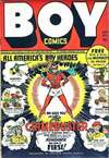 Boy Comics comic books