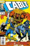 Cable #4 comic books - cover scans photos Cable #4 comic books - covers, picture gallery