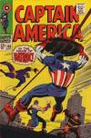 Captain America #105 comic books - cover scans photos Captain America #105 comic books - covers, picture gallery