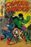 Captain America #110 comic books for sale