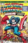 Captain America #193 comic books - cover scans photos Captain America #193 comic books - covers, picture gallery