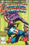 Captain America #254 comic books for sale