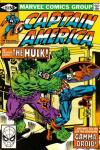 Captain America #257 comic books for sale