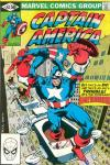 Captain America #262 comic books for sale