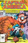 Captain America #308 comic books - cover scans photos Captain America #308 comic books - covers, picture gallery