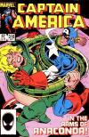 Captain America #310 comic books - cover scans photos Captain America #310 comic books - covers, picture gallery