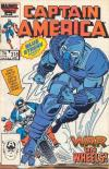 Captain America #318 comic books - cover scans photos Captain America #318 comic books - covers, picture gallery