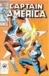 Captain America #327 comic books - cover scans photos Captain America #327 comic books - covers, picture gallery
