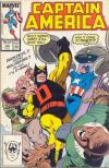 Captain America #328 comic books - cover scans photos Captain America #328 comic books - covers, picture gallery