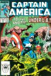 Captain America #329 Comic Books - Covers, Scans, Photos  in Captain America Comic Books - Covers, Scans, Gallery