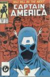 Captain America #333 comic books - cover scans photos Captain America #333 comic books - covers, picture gallery