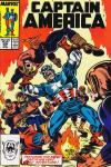 Captain America #335 comic books - cover scans photos Captain America #335 comic books - covers, picture gallery