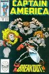 Captain America #340 comic books - cover scans photos Captain America #340 comic books - covers, picture gallery