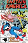 Captain America #343 comic books - cover scans photos Captain America #343 comic books - covers, picture gallery