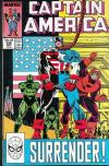 Captain America #345 Comic Books - Covers, Scans, Photos  in Captain America Comic Books - Covers, Scans, Gallery