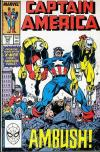 Captain America #346 comic books - cover scans photos Captain America #346 comic books - covers, picture gallery