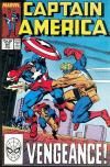 Captain America #347 comic books - cover scans photos Captain America #347 comic books - covers, picture gallery