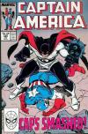 Captain America #348 comic books - cover scans photos Captain America #348 comic books - covers, picture gallery