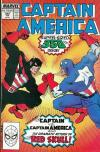 Captain America #350 comic books - cover scans photos Captain America #350 comic books - covers, picture gallery