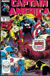 Captain America #352 comic books - cover scans photos Captain America #352 comic books - covers, picture gallery