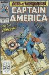 Captain America #366 comic books - cover scans photos Captain America #366 comic books - covers, picture gallery