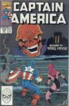 Captain America #370 comic books - cover scans photos Captain America #370 comic books - covers, picture gallery