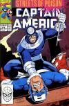 Captain America #374 comic books - cover scans photos Captain America #374 comic books - covers, picture gallery