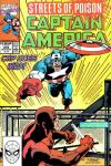 Captain America #375 comic books - cover scans photos Captain America #375 comic books - covers, picture gallery