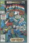 Captain America #407 comic books - cover scans photos Captain America #407 comic books - covers, picture gallery