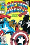 Captain America #408 comic books - cover scans photos Captain America #408 comic books - covers, picture gallery