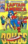 Captain America Goes to War Against Drugs comic books